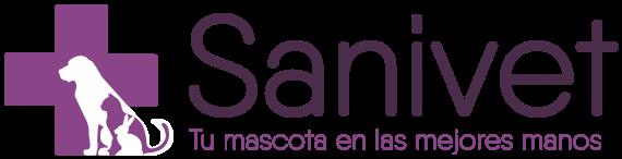 Logo clinica veterinaria en Leon Sanivet